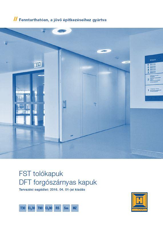 FST tolókapuk, DFT forgószárnyas kapuk