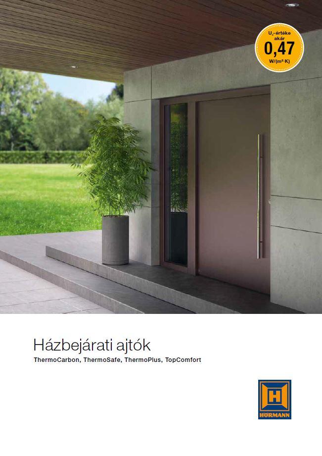 Házbejárati ajtók ThermoCarbon, ThermoSafe, ThermoPlus és TopComfort