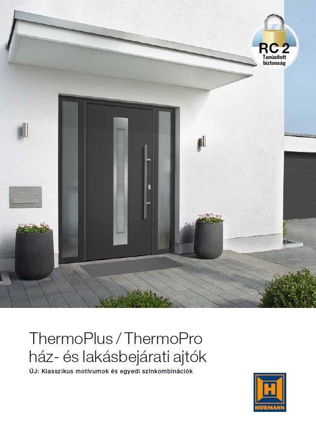 ThermoPlus / ThermoPro ház- és lakásbejárati ajtók